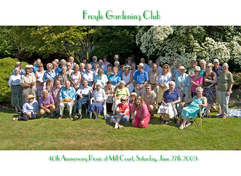 Gardening Club 40th Anniversary